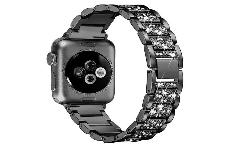 Bling Bands Compatible iWatch Band Metal Replacement Wristband  42mm