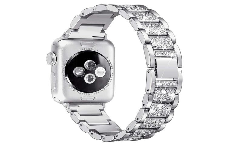 Bling Bands Compatible Apple Watch Band Metal Replacement Wristband  40mm