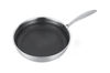 304 Honeycomb Stainless Steel Frying Pan Non BF0997