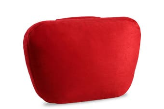 Soft Car Headrest Auto Seat Cover Cushion Neck Adjustable Pillow  WINE RED