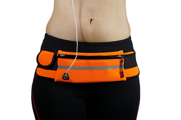 Sports Bodypack Running Bodypack Waterproof  ORANGE