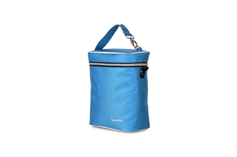 Multifunctional Waterproof Shoulder Slung Bottle Insulation Bag Fresh Bag  BLUE