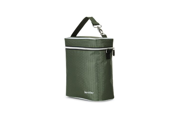 Multifunctional Waterproof Shoulder Slung Bottle Insulation Bag Fresh Bag  GREEN
