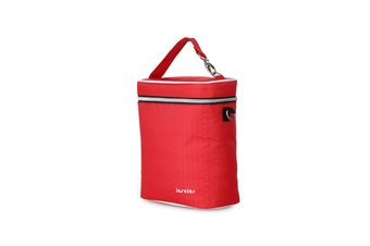 Multifunctional Waterproof Shoulder Slung Bottle Insulation Bag Fresh Bag  RED