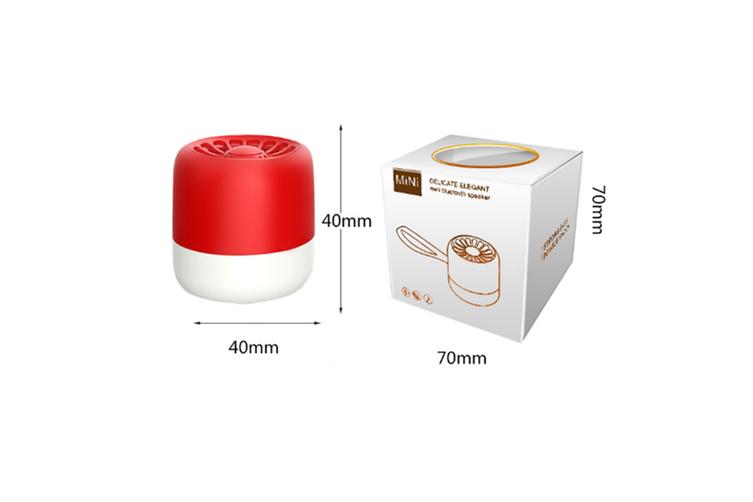 Bluetooth Subwoofer Wireless Portable Intelligent Mini Audio  BLACK