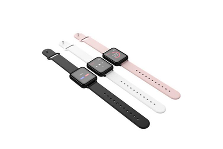 Intelligent Bracelet Heart Rate Blood Pressure Sleep Monitoring Bracelet  PINK