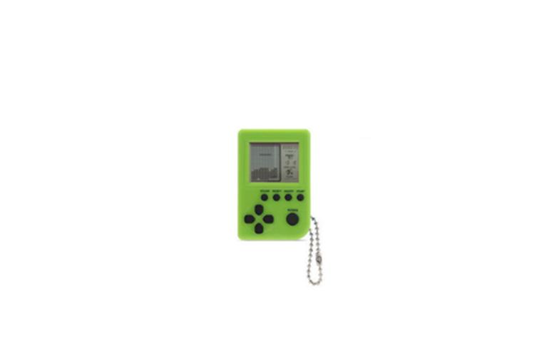 Super Mini Retro Tetris Game Console Keychain Decoration Pendant  2