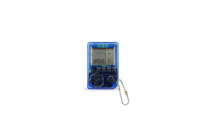 Super Mini Retro Tetris Game Console Keychain Decoration Pendant  9