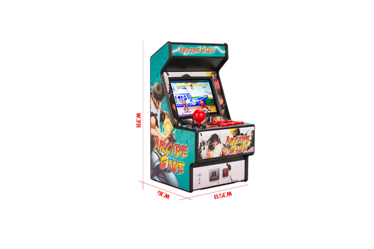 Mini Arcade Handheld Game Classic Retro Game 16 BLACK