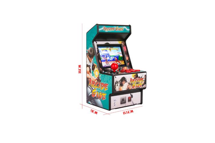 Mini Arcade Handheld Game Classic Retro Game 16 BLUE