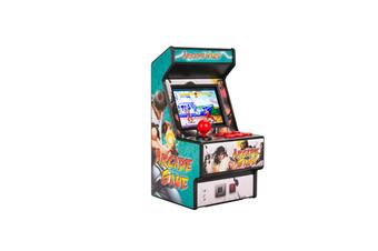Mini Arcade Handheld Game Classic Retro Game 16 GREEN