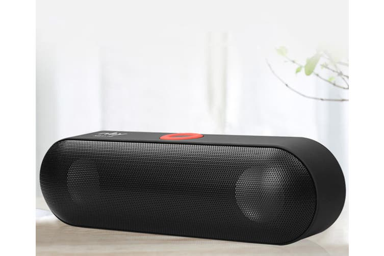 Wireless Bluetooth Card Speaker for Mobile Phone  BLACK