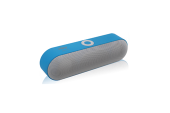 Wireless Bluetooth Card Speaker for Mobile Phone  BLUE