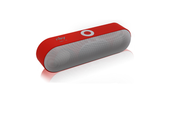 Wireless Bluetooth Card Speaker for Mobile Phone  RED