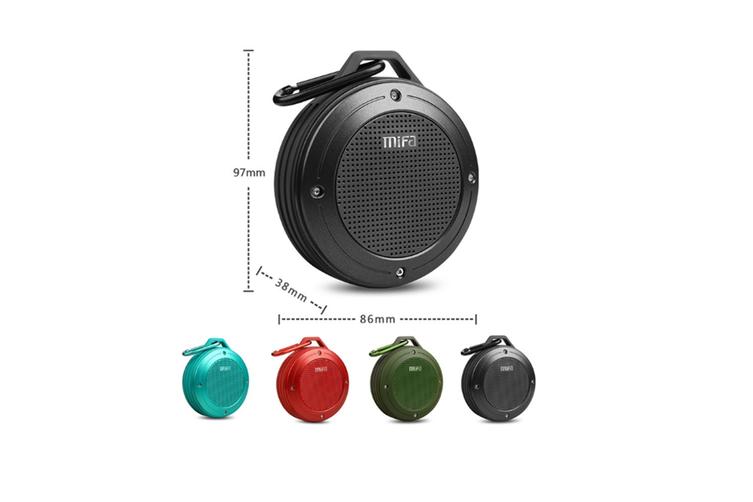 F10 Wireless Bluetooth Mini Portable Speaker  BLUE