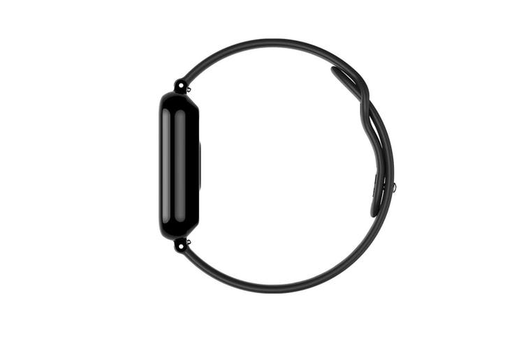 B57 Color Screen Pacing Heart Rate Sleep Analysis Bluetooth Waterproof Handcuff  BLACK