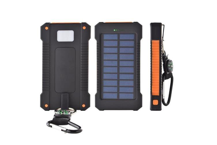 30000 Millimetre Outdoor Solar Mobile Power Supply  ORANGE