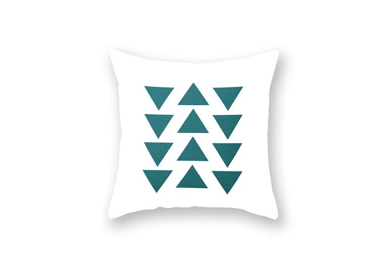 4PCS Home Tropical Marine Plant Pillow Cover,Cushion Pillow Cover  45X45cm