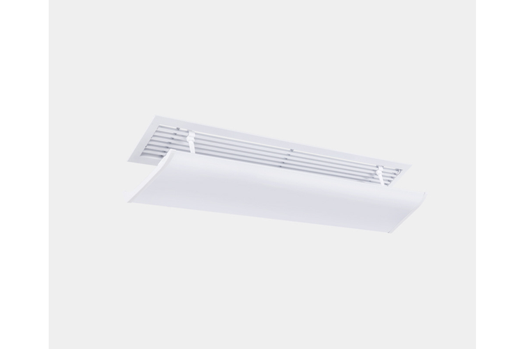 Central air conditioning windshield office air conditioning outlet baffle 73cm