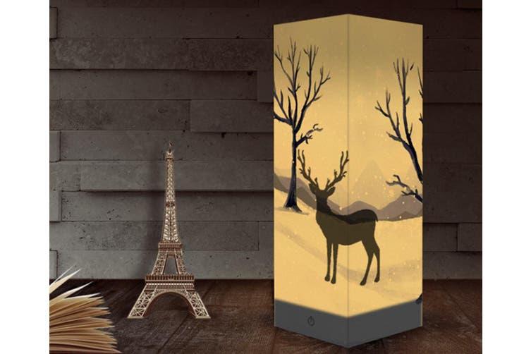 Animal Paper Lantern Christmas Deer Night Lamp Shadow Lamp in Room CT0649