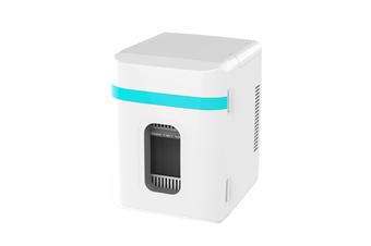 Mini Refrigerator in Vehicle Dormitory Cosmetics Refrigerator  BLUE