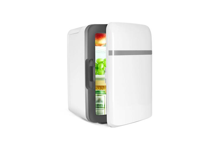 Car portable mini refrigerator Cosmetics refrigeration refrigerator  WHITE