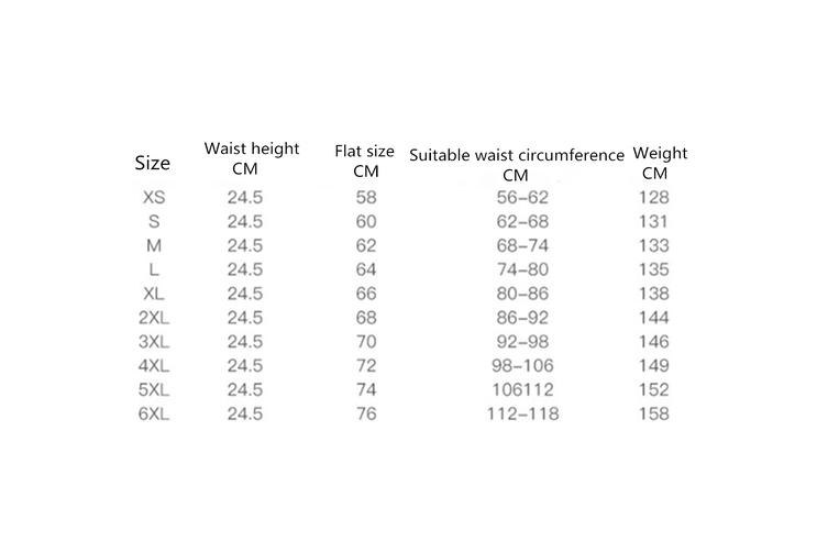 Long Waist Trainer Cincher Tummy Slimmer Breathable Shapewear Girdle  XL