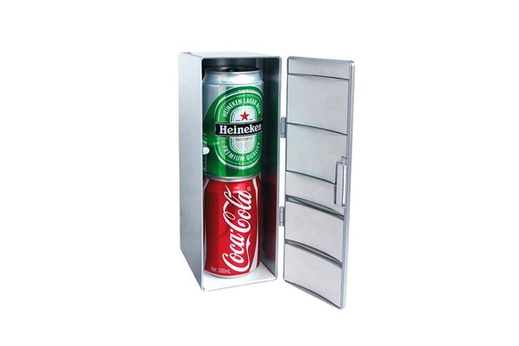 Mini Hot and Cold Refrigerator USB Cosmetics Cold CT0668