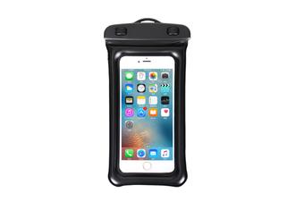 Outdoor Swimming Mobile Phone Waterproof Bag Floating Diving Bag  BLACK