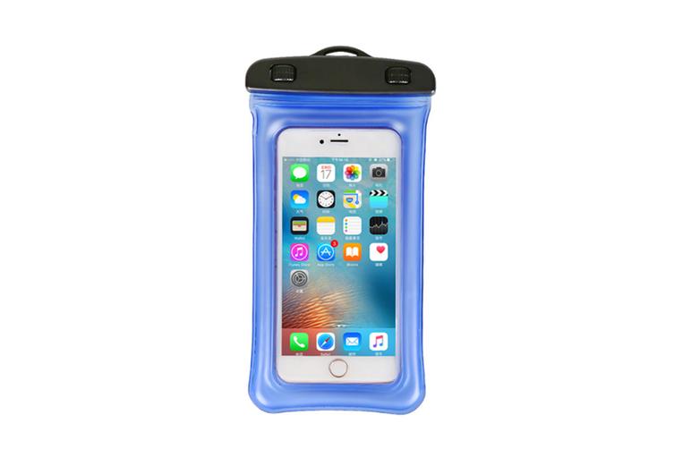 Outdoor Swimming Mobile Phone Waterproof Bag Floating Diving Bag  BLUE