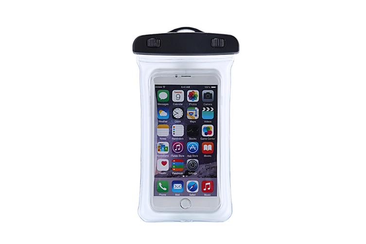 Outdoor Swimming Mobile Phone Waterproof Bag Floating Diving Bag  WHITE