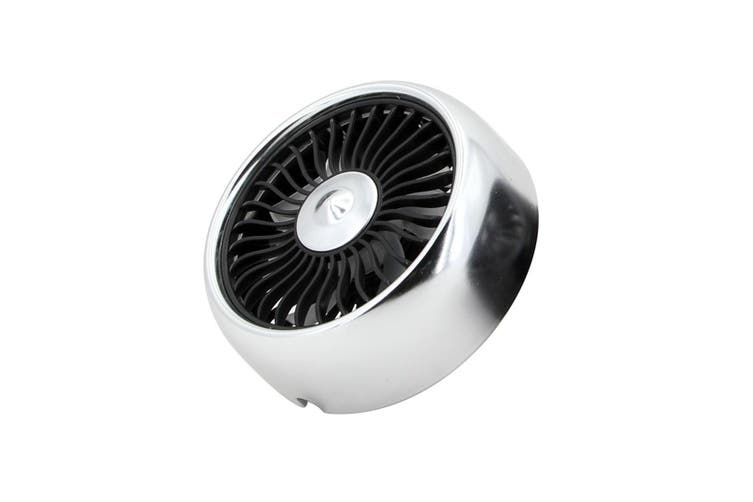 Multifunctional Electric Fan Car USB Mini Fan with Outlet  Air outlet