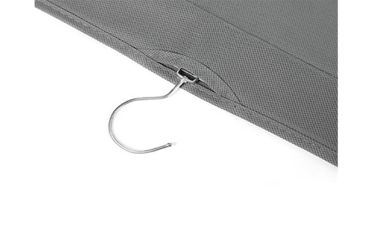 Transparent Bag Storage Hanging Bag Non GREY