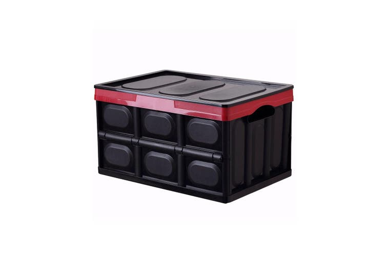 Car Storage Box Folding Receiving Box for Car Backup Box  30L
