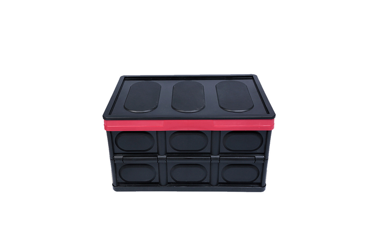 Car Storage Box Folding Receiving Box for Car Backup Box  55L