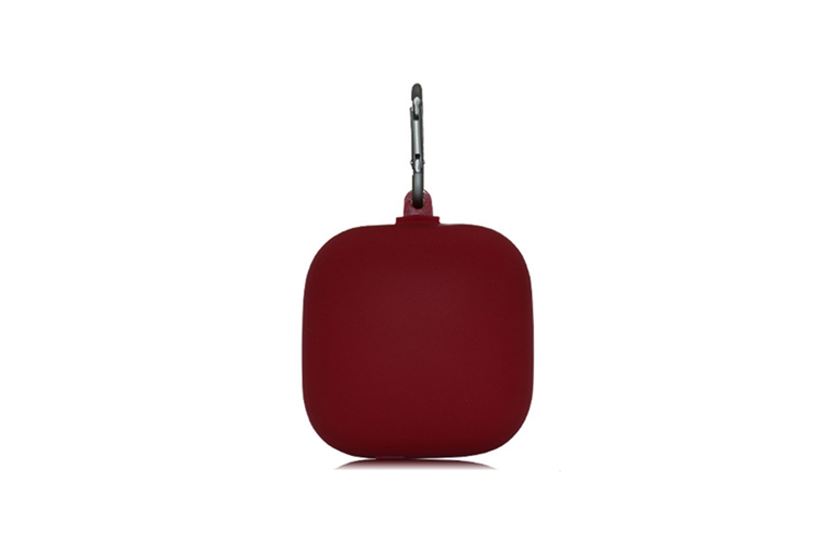 Silicone Headset Cover Wireless Headset Storage Pack for Powerbeats Pro  WINE RED