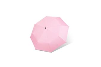 Black Rubber Sunshade Umbrella Anti PINK