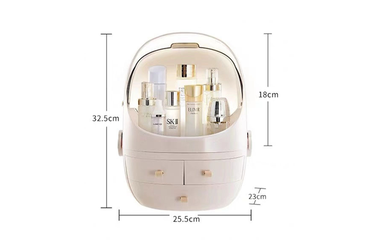 Portable Cosmetic Multifunctional Box Skin Care Product Storage Box  S
