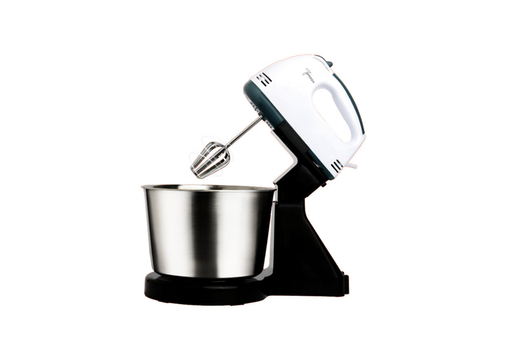 Electric Egg Beater Household Desktop Cream Baking and Mixing Machine  BLACK