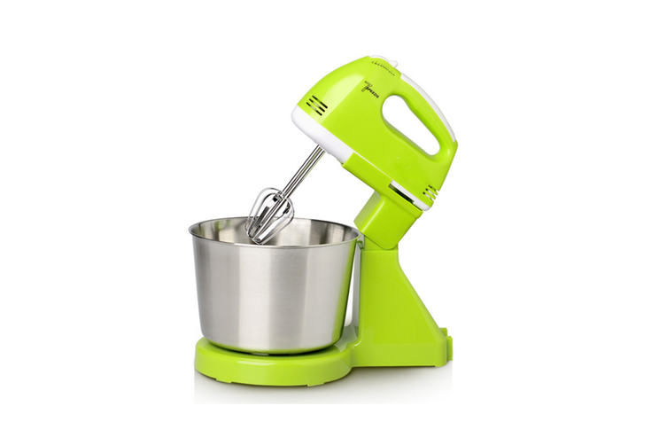 Electric Egg Beater Household Desktop Cream Baking and Mixing Machine  GREEN