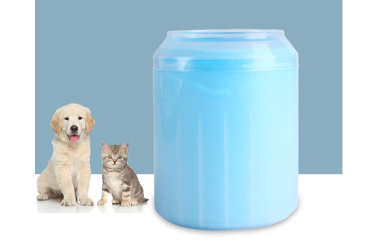 Pet Foot Washing Cup Washes Cats and Dogs Feet Automatically  L