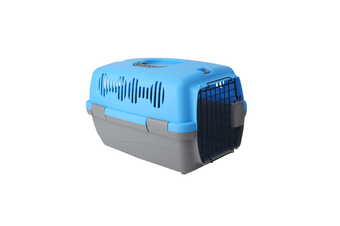 Airline Pet Box Outdoor Portable Pet Shipping Box  BLUE