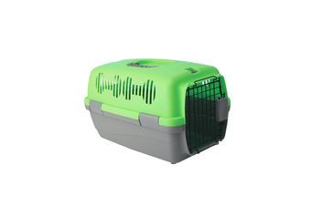 Airline Pet Box Outdoor Portable Pet Shipping Box  GREEN