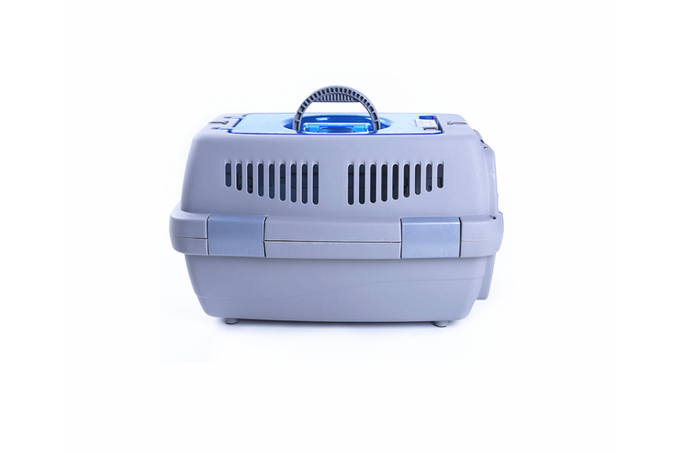Airline Pet Box Outdoor Portable Pet Shipping Box  GREY