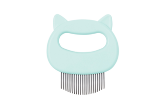 Special Comb for Pet Cat Shell Comb To Remove Floating Hair and Hair Comb  GREEN
