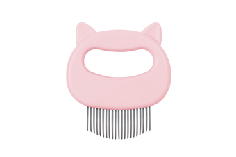 Special Comb for Pet Cat Shell Comb To Remove Floating Hair and Hair Comb  PINK