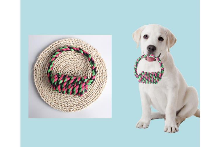Dog Bite Rope Toy Dog Molars Bite Color Knot Toy 350g