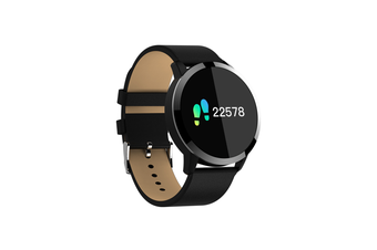 Q8 Smart Watch for Monitoring Heart Rate and Blood Pressure  BLACK