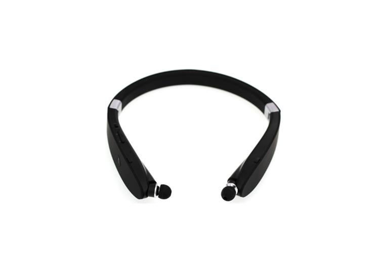 Wireless Sports Bluetooth Headset Neck BLACK