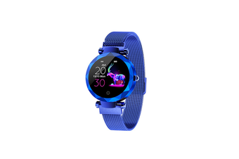 Women's Intelligent Watch Heart Rate and Blood Pressure Monitoring Sports Watch  BLUE